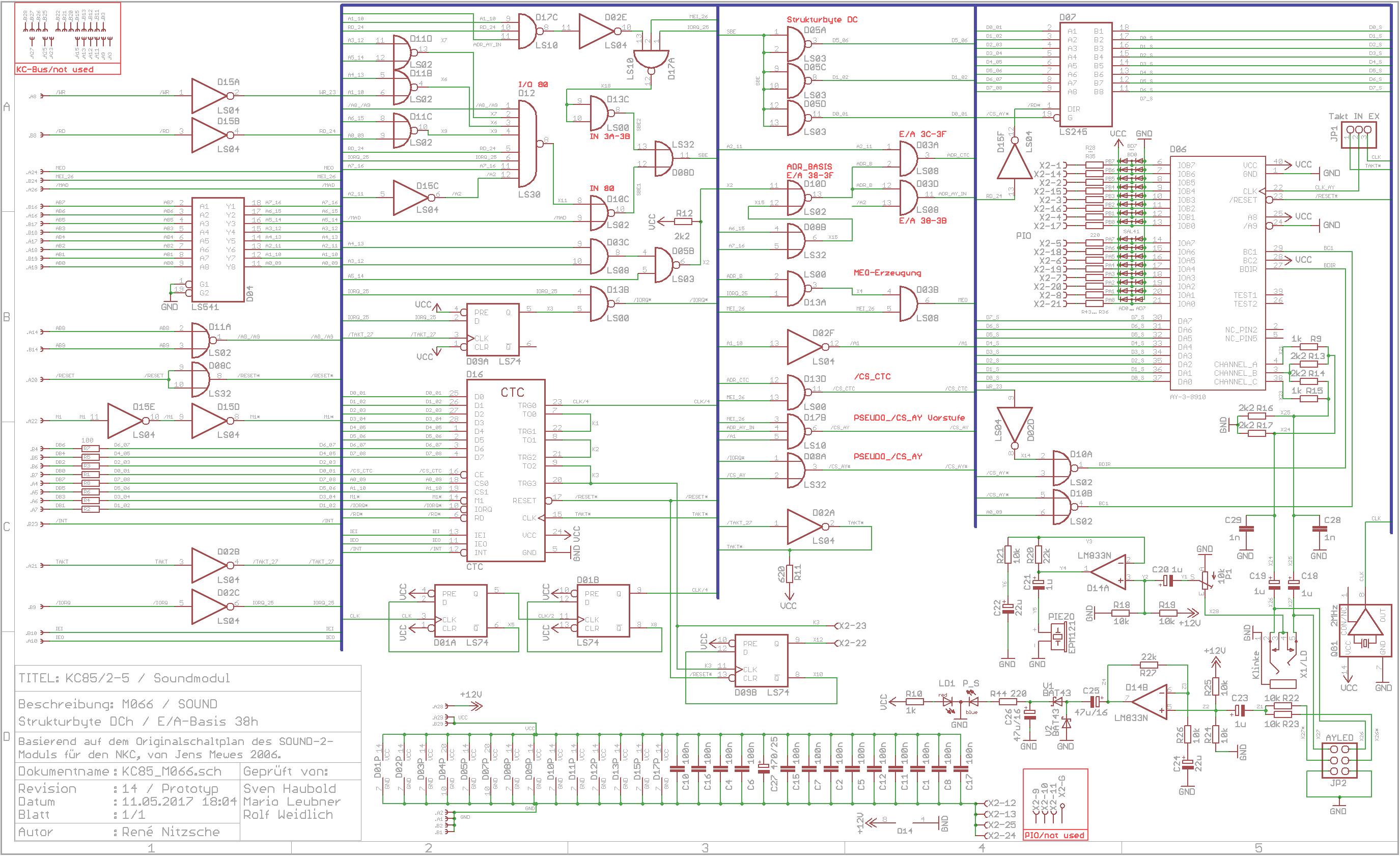 Alte Computer by SRN - KC85/4 - M066 SOUND
